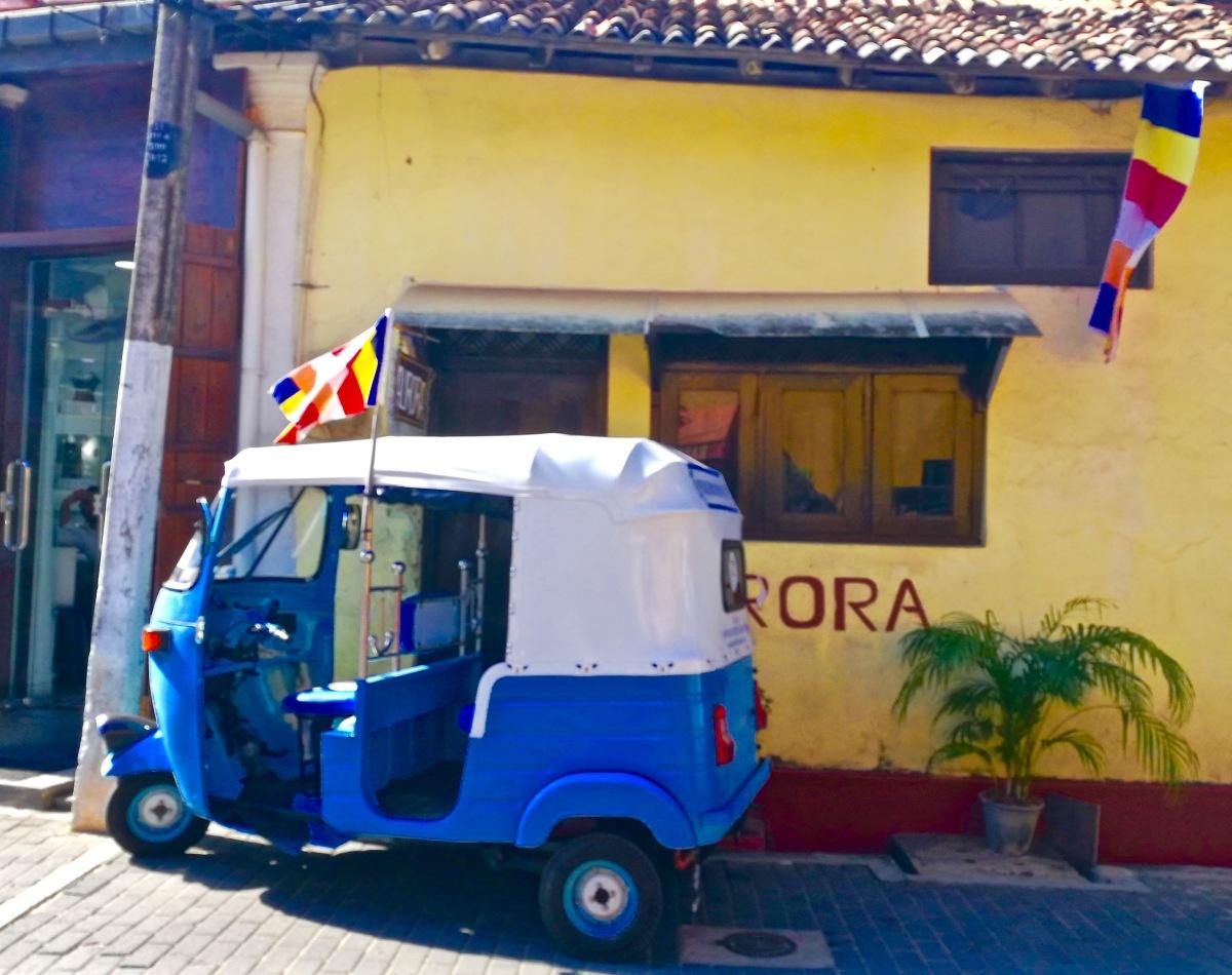 Tuk-tuks: Riding in style in Sri Lanka'sFerraris